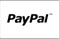 paypal logo black and white