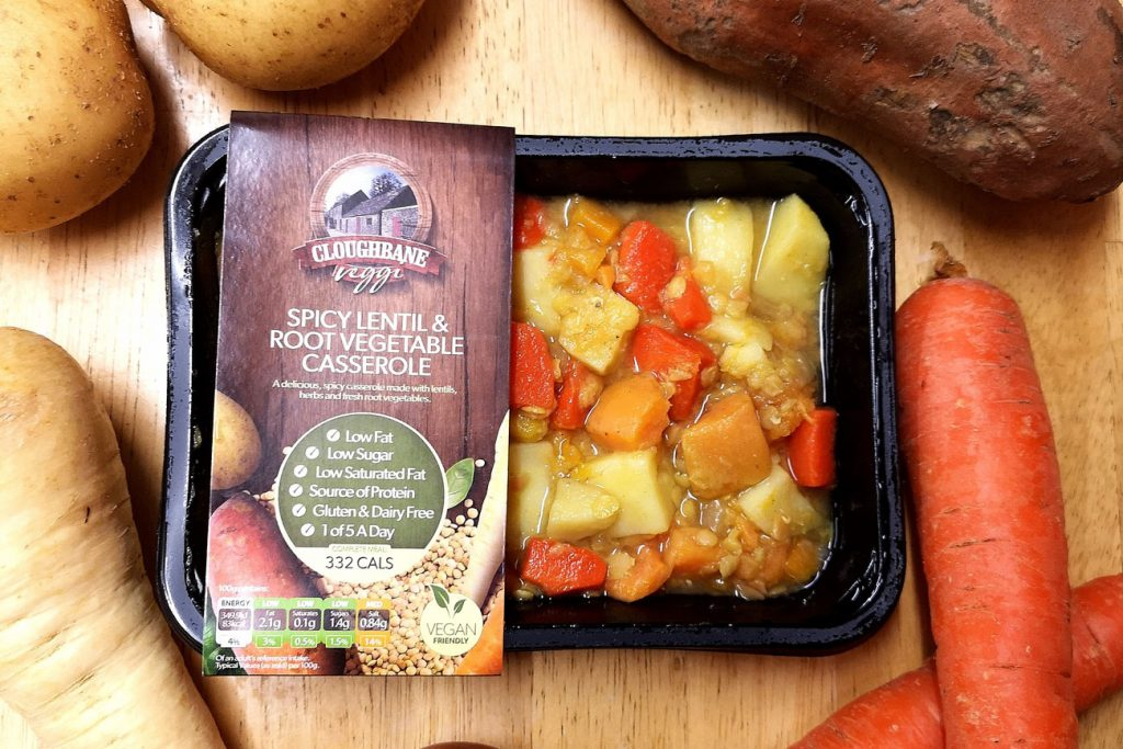 Spicy Lenitl & Root Vegetable Casserole
