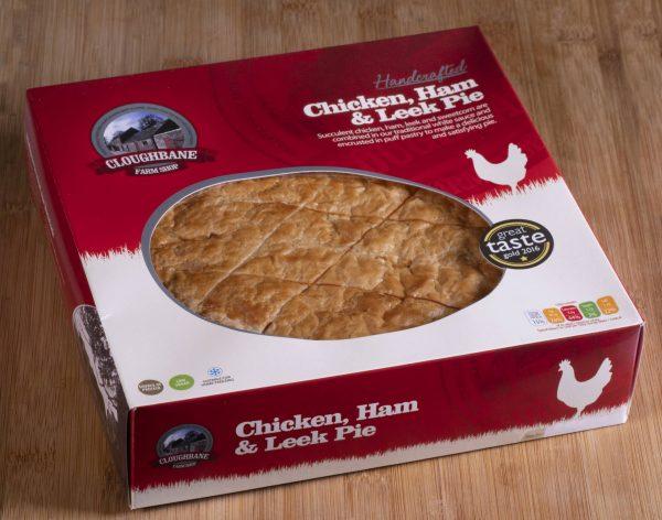 Chicken Ham & Leek Pie